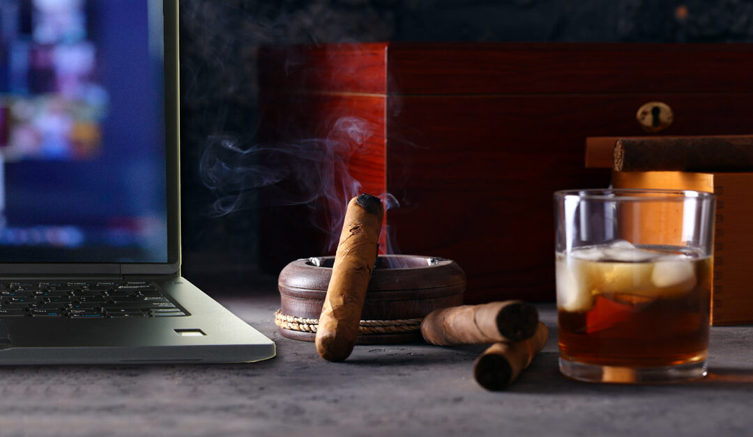 Host Virtual Cigar Parties to Boost Your Online Cigar Business